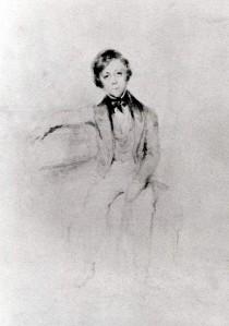 Portrait de Guillaume Guizot vers 1843, par Nadar