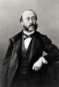 Guillaume Guizot, photo de François Louchet sur un original de l'époque