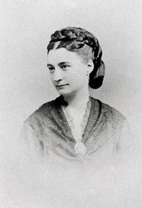 Gabrielle de Flaux, photo de François Louchet sur un original de l'époque