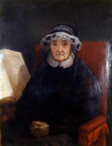 Ary SCHEFFER (1795-1858), Portrait d'Elisabeth, Sophie Bonicel-Guizot. Huile sur toile. Collection particulière. Cliché François Louchet.