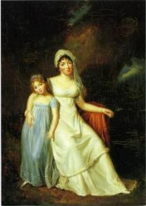 Germaine de Staël et sa fille Albertine