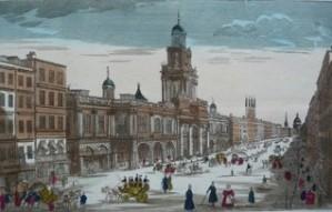 La bourse royale à Londres vers 1830