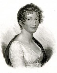 Anonyme. Portrait de Pauline de Meulan. Lithographie. Collection particulière. Cliché François Louchet.