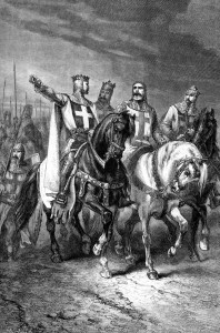 The four leaders of the first crusade