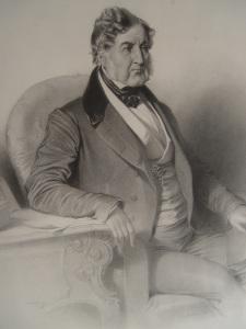 Anonyme. Le roi Louis Philippe. Gravure, environ 1840. Collection particulière.