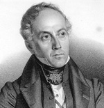 DELPECH d'après MAURIN, Portrait de François Guizot, gravure, vers 1820-1830, lithographie, collection privée.
