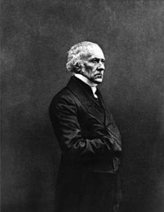 NADAR (1820-1910). Portrait de François Guizot. Photographie. Collection particulière.