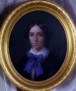Adélaïde-Rosalie comtesse MOLLIEN (1784-1878), Portrait de Pauline Guizot-de Witt. Pastel, 1857. Collection particulière. Cliché François Louchet.