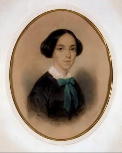 François GRENIER, Portrait de Pauline Guizot-de Witt. Pastel, 1857. Collection particulière. Cliché François Louchet.