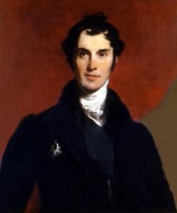 D'après Thomas LAWRENCE, Edwin, Henry LANDSEER, Portrait de Lord Aberdeen, huile sur toile. Colllection particulière. Cliché François Louchet.
