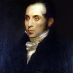 Ary SCHEFFER (1795-1858), Portrait de François Guizot, huile sur toile, vers 1833. Collection particulière. Cliché François Louchet.