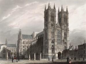 Abbaye de Westminster 1841