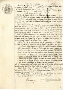 Contrat entre Guizot et Didier du 17 janvier 1861
