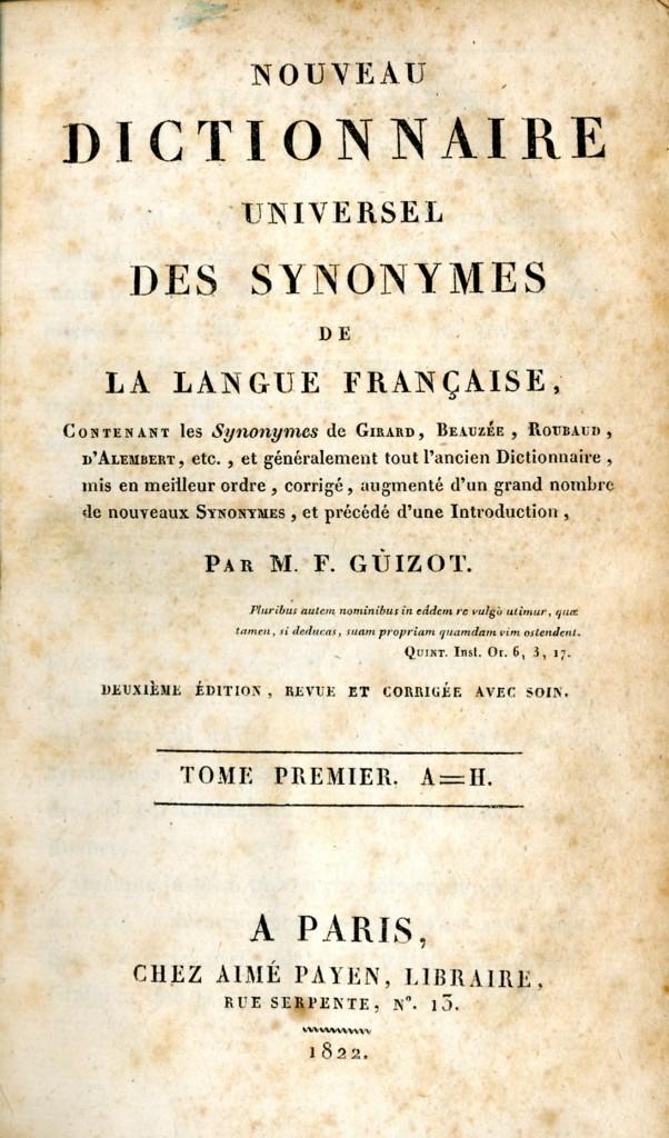 1 Des Debuts Prometteurs Francois Guizot