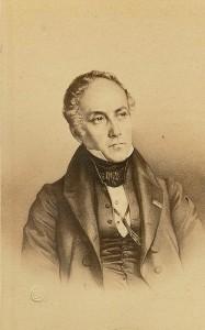 DESMAISONS Emile (1812-1880). Lithographie de François Guizot.