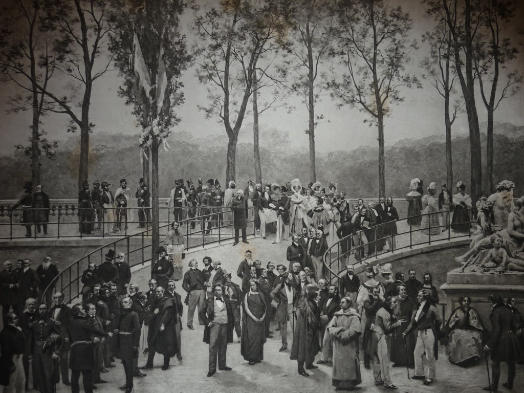 Guizot in the Tuileries. History of the Century. 1789–1889. Painting by MM. Stevens et Gervex. Heliography Dujardin. Picture by Pierre Petit. 1830–1848
