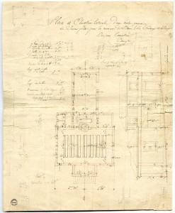 Plan de l'école de Saint-Ouen-le-Pin