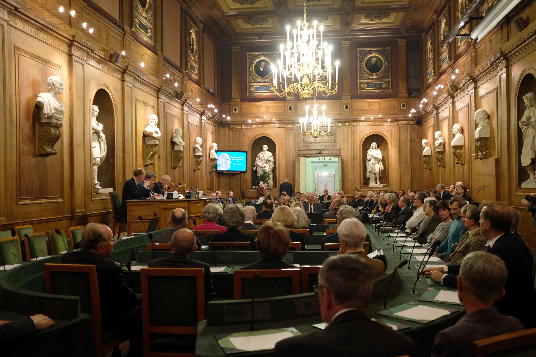 Assemblée réunie pour le troisième Prix Guizot de l'Institut