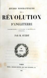 Etudes biographiques sur la Révolution d'Angleterre