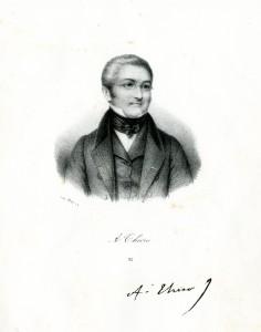 DELPAR. Adolphe THIERS (1797-1877). Lithographie.