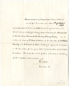 Memorandum of agreement, Mac Millan