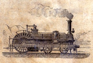 Logo de la bibliothèque des chemins de fer